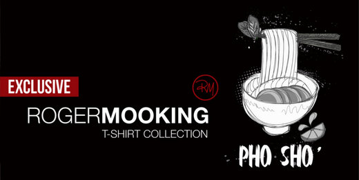 Food On Your Shirt: The Roger Mooking Collection