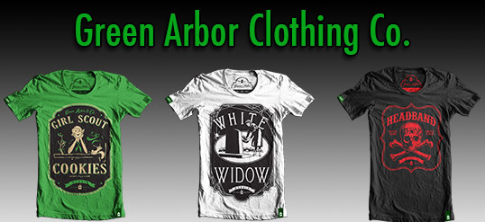 Green Arbor Clothing Co. Designs Apparel with Marijuana Hidden in Plain Sight